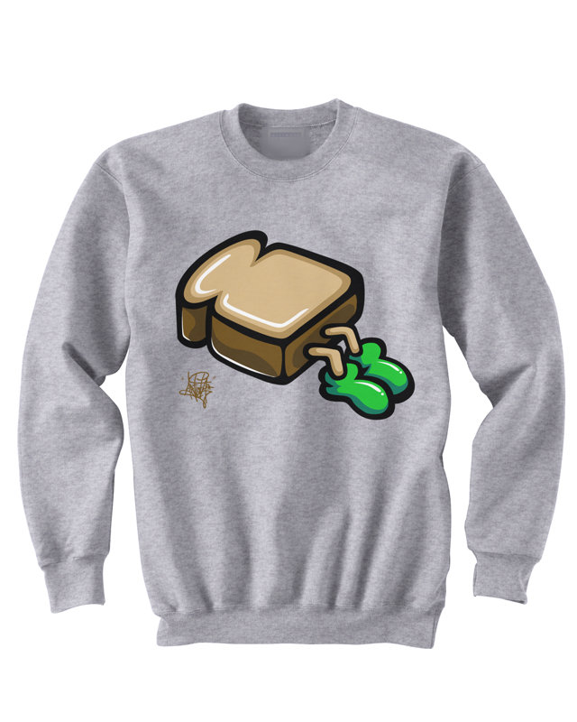 A Flying Toast Sweatshirt